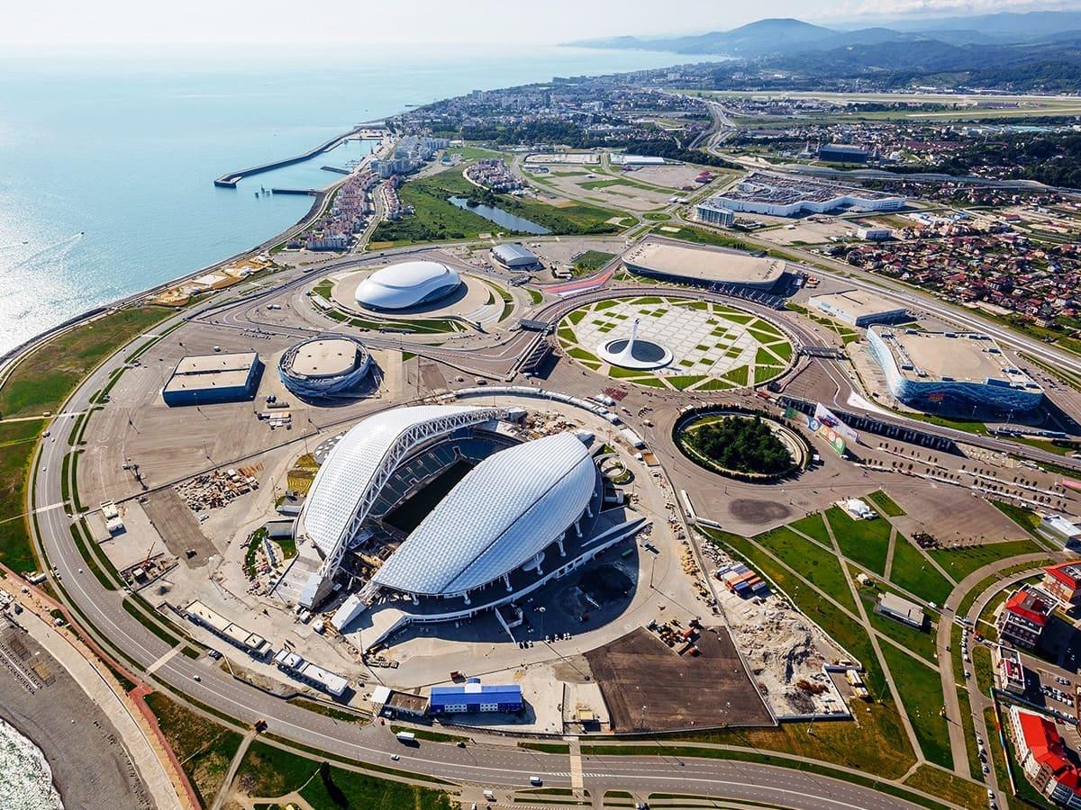 Олимпийский парк сочи достопримечательности фото